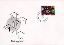 Liechtenstein 414 FDC, CEPT 1961