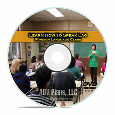 Learn How To Speak Lao, Fluent Foreign Language Training Class, DVD E06