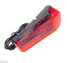 Classic Bicycle Rear Tail Light Lamp Dynamo Light With Fittings Mudguard Fit