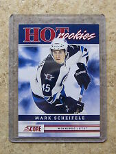 11-12 Panini Score Hot Rookies Rookie RC MARK SCHEIFELE #556 SP