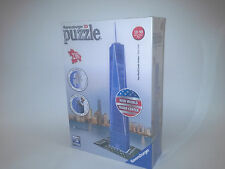 RAVENSBURGER 3D PUZZLE. ONE WORLD TRADE CENTRE. 216 PIECE. NEW