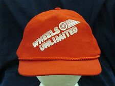 trucker hat baseball cap WHEELS UNLIMITED cool style vintage retro rare rave