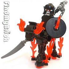 C501 Lego Ghost Army Rider Custom Knight Minifigure & Skeleton Horse NEW