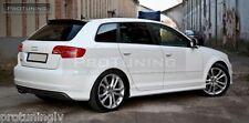 Audi A3 8P 03-12 Rear Bumper spoiler S line lip Valance addon S-Line abt s3 rs3