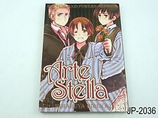 Hetalia Axis Powers Artestella Japanese Artbook Japan Art Book US Seller