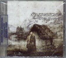 ELUVEITIE EVERYTHING REMAINS AS IT NEVER WAS + 2 BONUS TRACKS SEALED CD NEW
