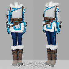 Overwatch OW Mei Cosplay Costume Lynn All Size Full Set Halloween Costume