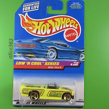HOT WHEELS 1998 -  Mini Truck - Low´n Cool Series - 697 - long card - neu in OVP
