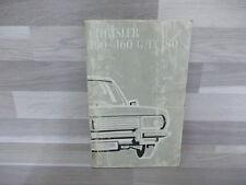 Handleiding voor Chrysler France 160 - 160 GT - 180 - nederlandstalig