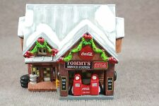 Coca-Cola Town Square Collection - TOMMY'S SERVICE STATION - 1998