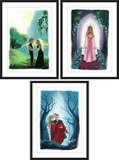 3 Poster Set PRINCESS BRIDE Bove 11X16 Giclee Bottleneck like Mondo LOW #5 of 50
