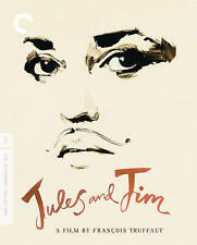 Jules And Jim - Truffaut (Criterion Blu-ray Disc, 2014, Dual format 3-Disc Set)