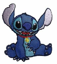 Disney Lilo & Stitch Movie Stitch Character Sitting Embroidered Patch