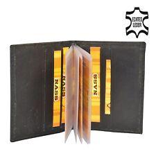 Etui Porte carte bleu, de crédit de fidélité de visite en Cuir Couleur Noir