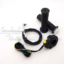 Motorized Bicycle Hand Grips + Throttle Cable + Kill Switch Push Bike 49cc-80cc