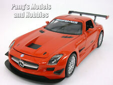 Mercedes-Benz SLS AMG GT3 1/24 Scale Diecast Model by Motormax - RED