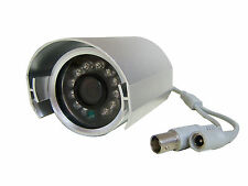 12 V Silver Dummy Cctv Camera With 12 Working Led`s