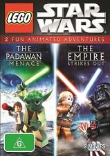 LEGO Star Wars: The Padawan Menace / Empire Strikes Out : NEW DVD