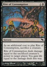 2x Rito di Consumo - Rite of Consumption MTG MAGIC SM Shadowmoor Ita