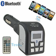 Bluetooth FM TRANSMITTER Modulator MP3 Player Auto Radio USB SD Freisprechen