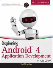 Beginning Android 4 Application Development by