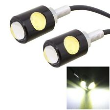 2 PCS MZ 16mm 6W 250LM White Light COB LED Eagle Eye Light Daytime Running Light