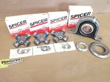 CARRIER SUPORT BEARING AND GREASABLE U JOINT KIT DODGE RAM 2500 REAR DRIVESHAFT