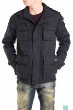 CORE By JACK & JONES Size L Men's Funnel Neck Military Style Jacket /KMV 91