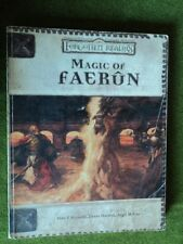 Magic of Faerun Forgotten Realms campaign book Dungeons and Dragons USED