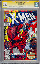 UNCANNY X-MEN #284 CGC 9.6 WHITE PAGES SS STAN LEE SIGNED CGC #1197182007