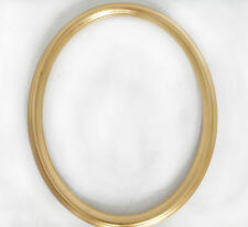 "Arquati Gold Oval Frame Solid Wood 16""x12"""