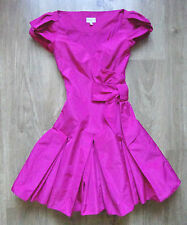 Stunning Ladies Karen Millen Dark Pink Dress Size UK6/ US2 /EU34 ,VGC !