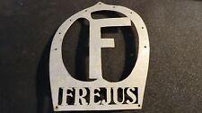 mascotte de calandre  F FRANCE insigne de capot voiture ancienne traction tacot