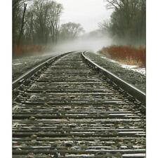 3X5FT Railroad Tracks Photography Background Backdrop Photo Prop For Studio
