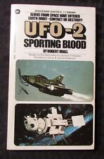 1973 UFO-2 Sporting Blood by Robert Miall 1st Warner 75-274 Paperback FVF