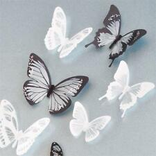 18pcs DIY 3D Butterfly Wall Stickers Art Decal PVC Butterflies Home Room Decor C