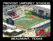 Lamar Univ - PROVOST UMPHREY STADIUM - Flexible Fridge Magnet