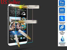 Premium Ultra Clear HD Tempered Temper Glass Screen Protector fo HTC Desire 610