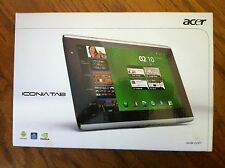 Acer ICONIA A500-10S16u 16GB, Wi-Fi, 10.1in - Silver