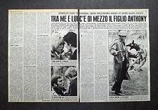 AH68 - Clipping-Ritaglio -1975- INTERVISTA MIRELLE DARC LEGATA AD ALAIN DELON