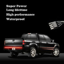"Pickup Chevy Tailgate 60"" LED Light Bar Reverse Stop Running Turn Signal CYV2"