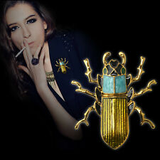 Fashion Genuine Brooch Jewelry Bug Insect Pin Alloy and Diamond Brooch New
