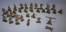 Lot 31 Figurines Soldats Militaires STARLUX 35 mm ancien