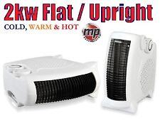 Daewoo Portable 2Kw 2000W Electric Floor & Upright Cold Fan & Hot Blow Heater