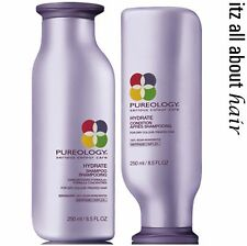 PUREOLOGY Hydrate Shampoo 250ml + Conditioner 250ml Duo Pack