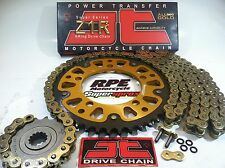 HONDA CBR1000rr 2006-07 JT GOLD / SUPERSPROX CHAIN & SPROCKETS KIT OEM,QA or Fwy