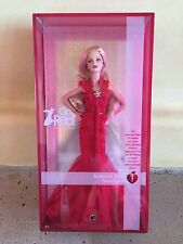 BARBIE Go Red For Women American Heart Association Pink Label 2007 NRFB