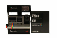 Polaroid 635 Supercolor Camera with NEW Colour Film with Black Borders