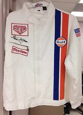 Historic Gulf Style McQueen Signature Racing Jacket One Only!Size: Medium