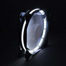 Sphere 120mm LED Ring Gehäuse Lüfter - 1200 rpm - Modding Case Fan - Weiß, White
